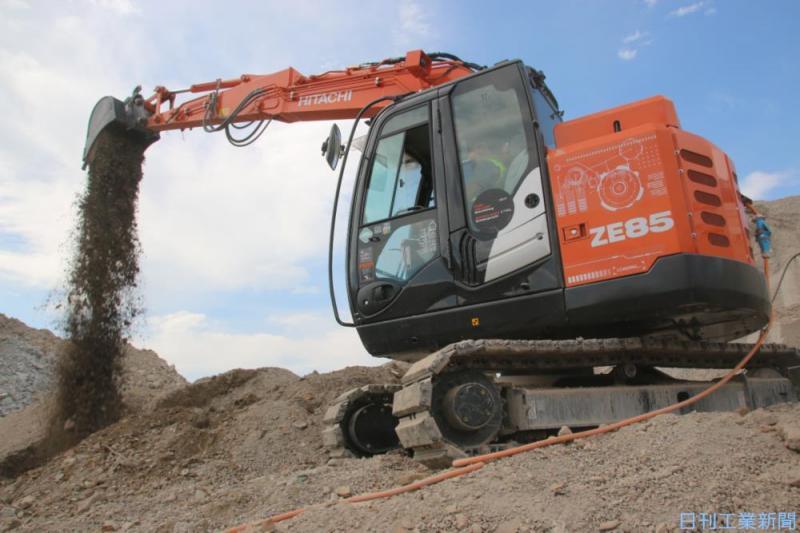 日立建機が欧州向けに電動ショベル販売、環境規制の対応