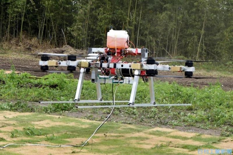 物流・物資輸送用で実用化へ、ハイブリッド動力搭載の大型ドローンがスゴイ