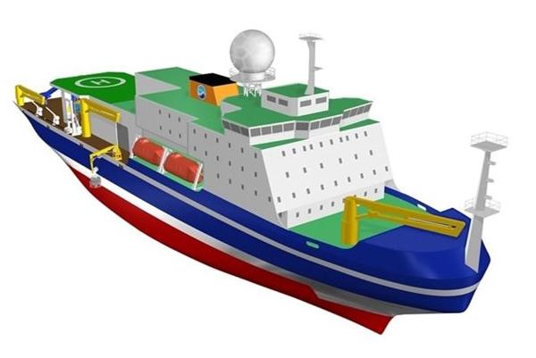 海洋機構が「北極域研究船」の建造を来年度から開始