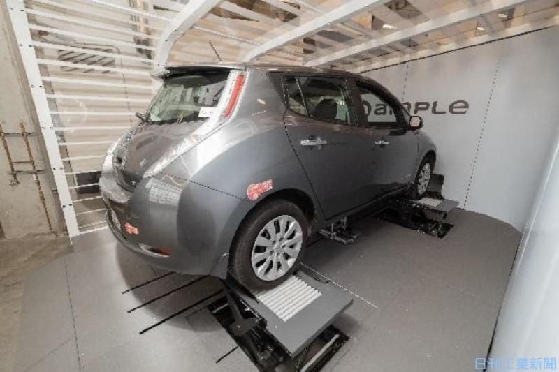 ロボットによるEV用蓄電池交換サービス、ENEOSが実証へ
