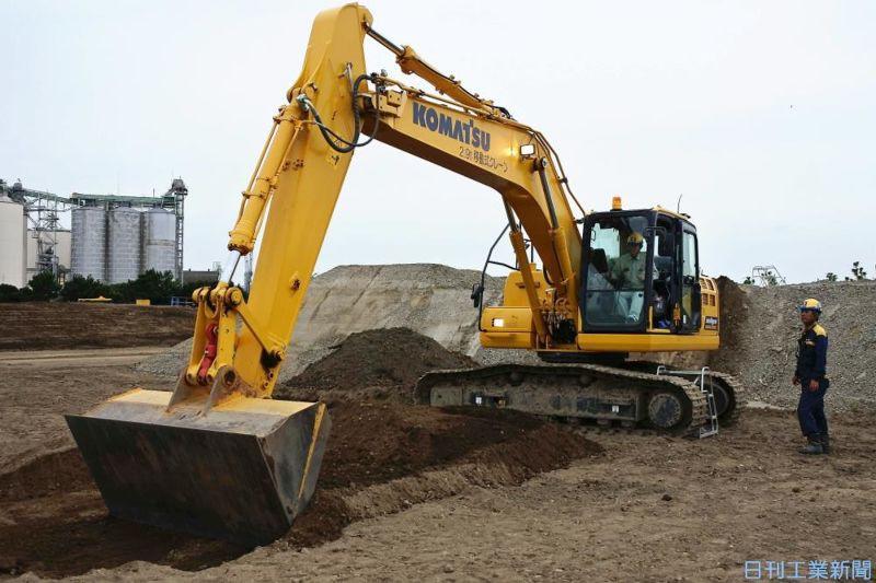 サブスクで建機をICT化、三菱UFJリースとコマツが新サービス