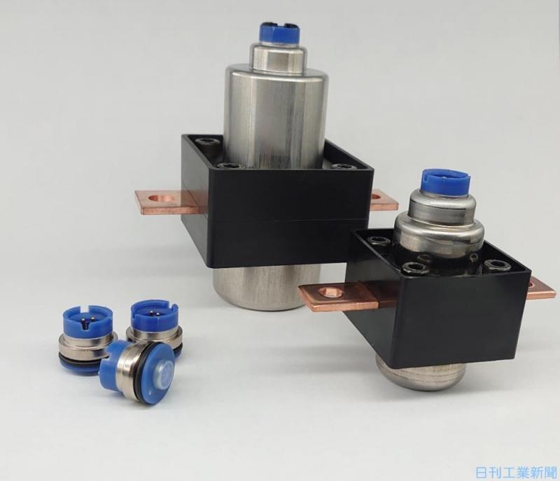 ダイセルが火薬技術応用の車載向け電流遮断器