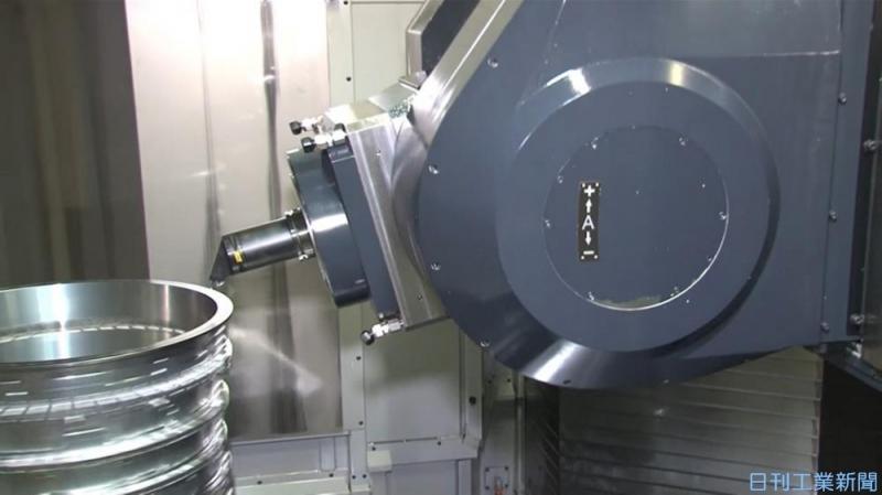 牧野フライスが半導体装置市場を深耕。旋削加工が可能な5軸マシニングセンター開発