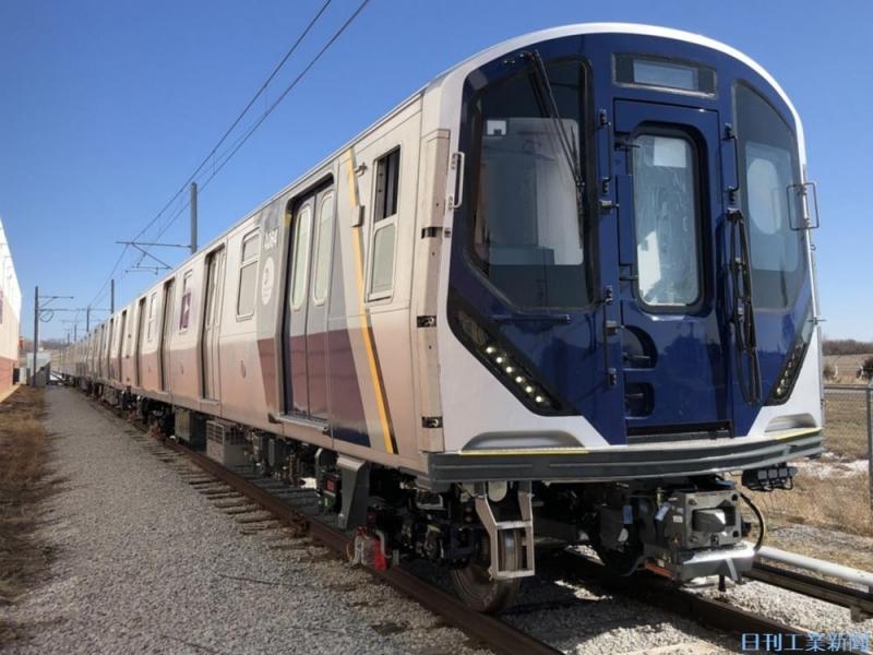 ニューヨークの地下鉄を走る。川崎重工が納入した新型車両の全貌