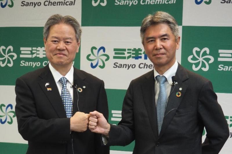経営統合が破談になった三洋化成、「全樹脂電池」に1000億円投資で成長路線示す