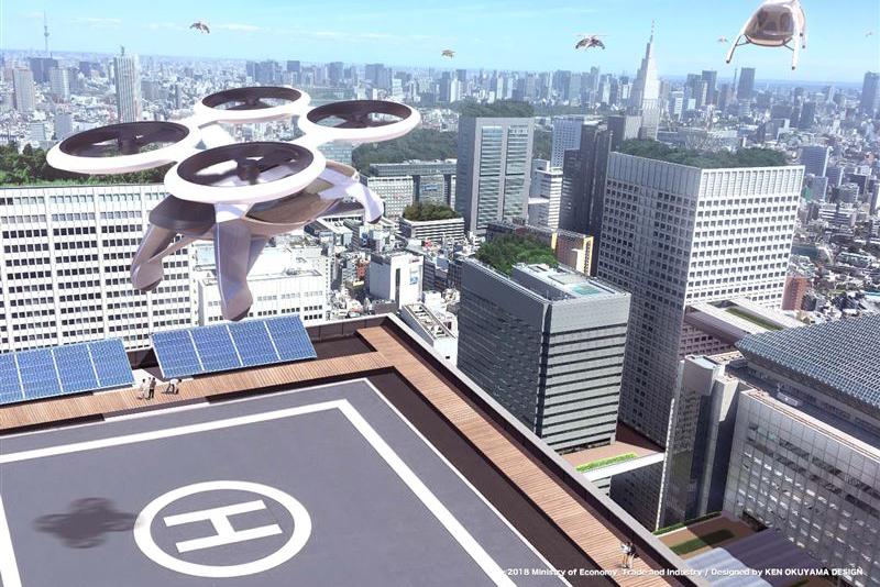 愛三工業がドローンのハイブリッド技術を生かし電動車の部品提案へ