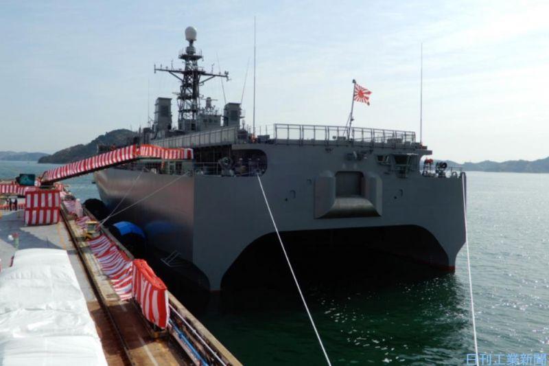 29年ぶりに引き渡された音響測定艦、防衛省の狙い
