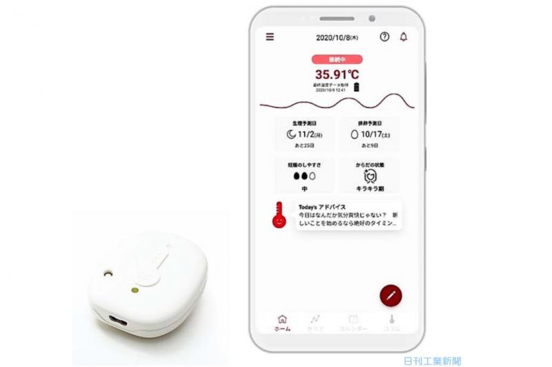 もう基礎体温計は要らない!新しいスマホアプリ型体温管理計