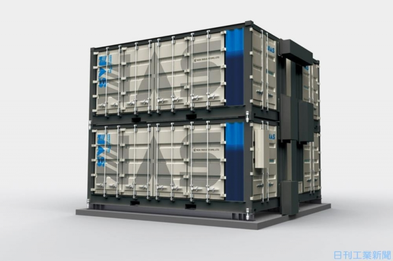 日本ガイシとネクストエナジー、NAS電池と太陽光発電を組み合わせた新サービス