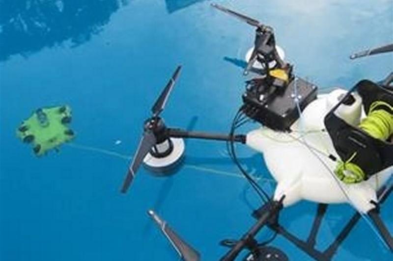 KDDIなどが2022年度に商用化、水中ドローンの用途とは?
