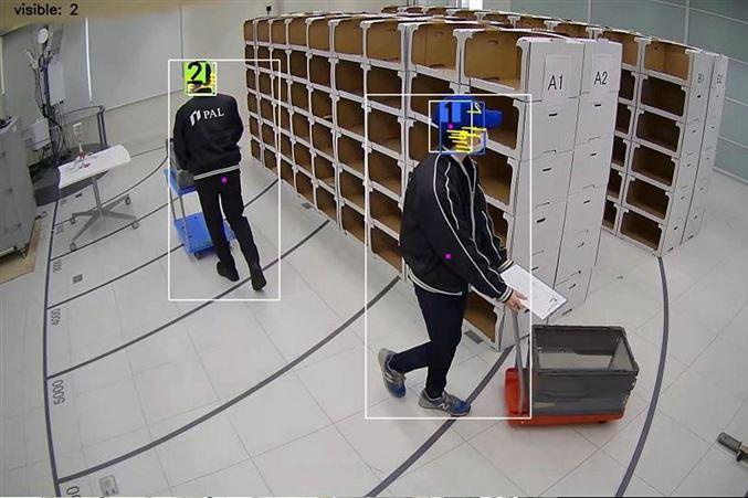 物流倉庫の人員配置を効率化、ローカル5G×AI画像分析で効果あり