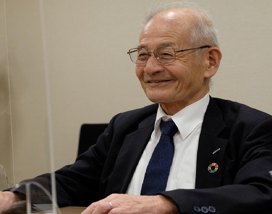 【単独インタビュー】ノーベル賞の吉野さん「若手は35歳をめどにライフワークの研究を始めよう」
