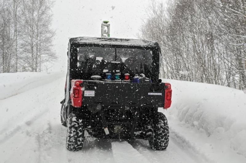 雪道での自動運転はできるの? 除雪車での実証実験が年末からスタート
