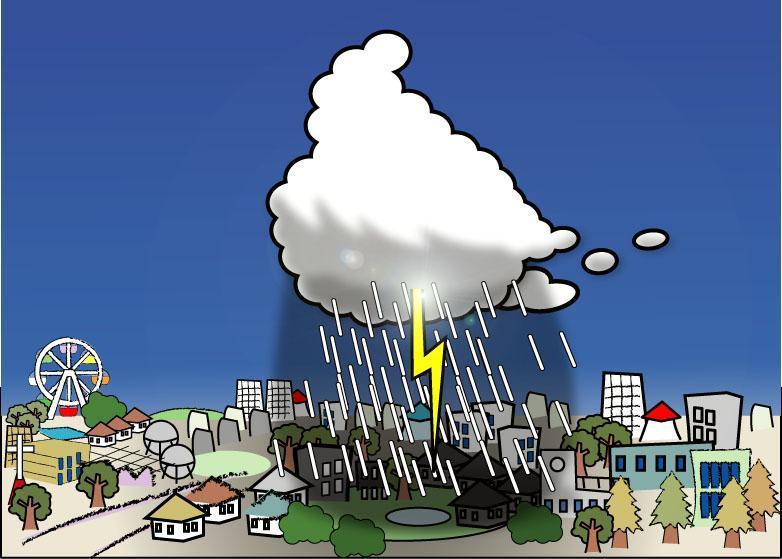 「観測史上最高雨量」が毎年…ゲリラ豪雨が起きる理由
