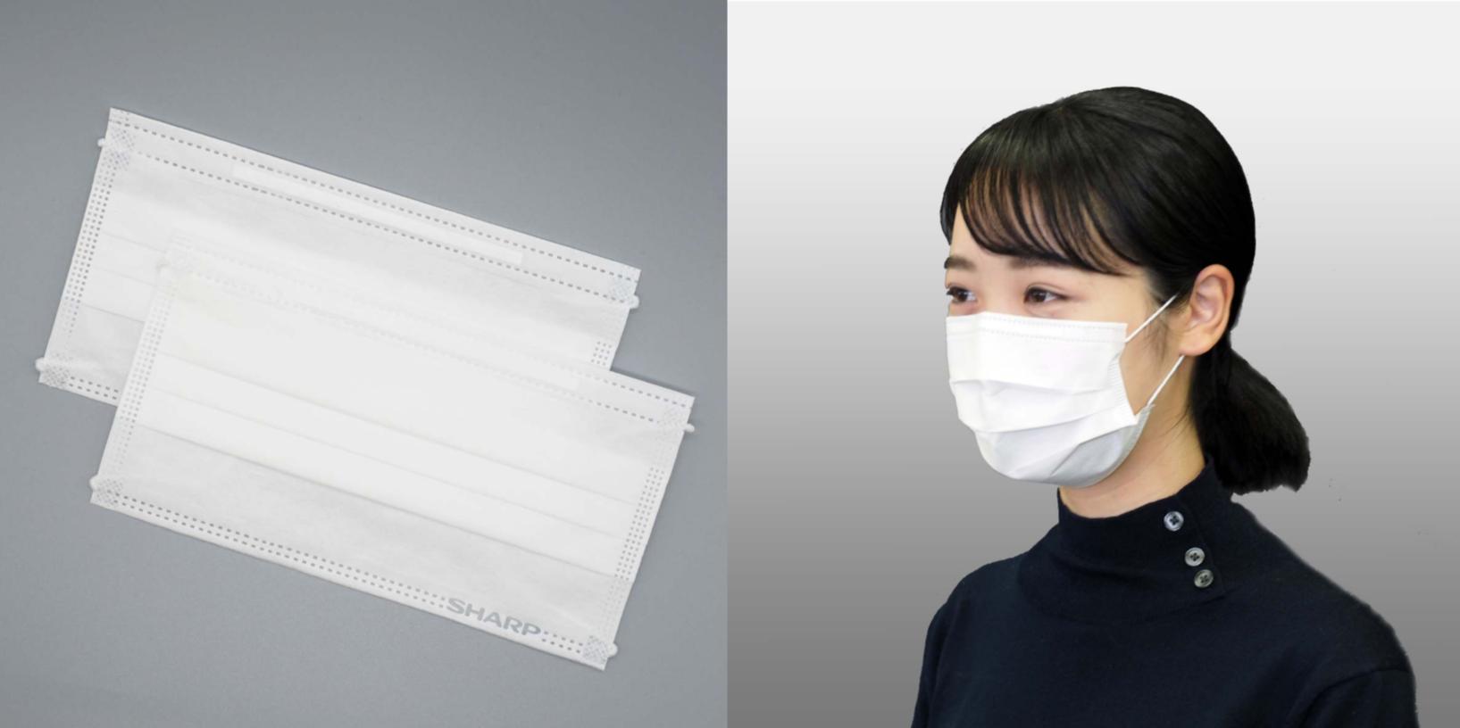 マスク シャープ 製