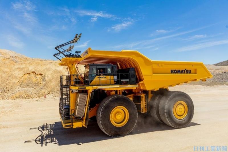 世界鉱山大手4社と連携。コマツが描く「多動力源ダンプトラック」開発
